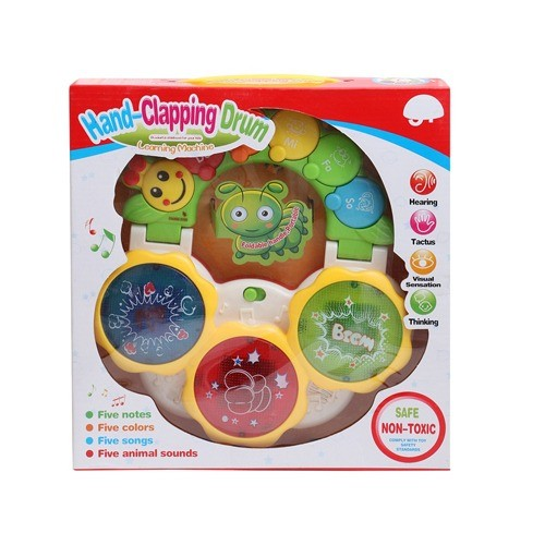 HAND CLAPPING DRUM LEARNING MACHINE FOR KIDS