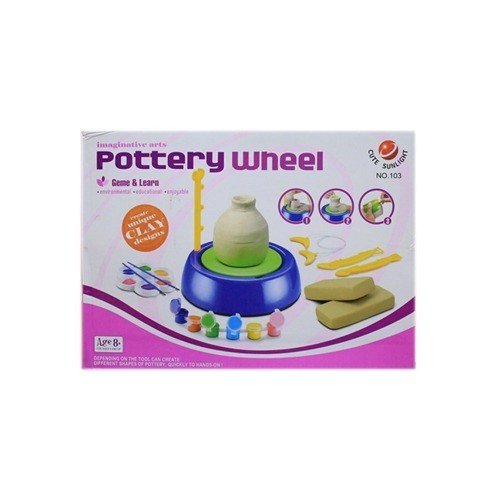 POTTERY ARTS WHEEL GAME & LEARN FOR KIDS