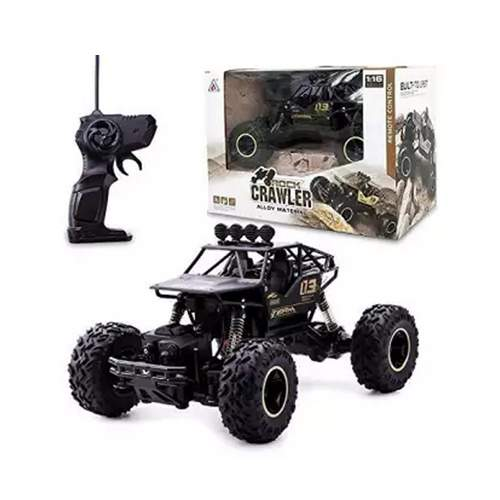 REMOTE CONTROL ROCK CRAWLER CAR IN ALLOY MATERIAL FOR KIDS 6+